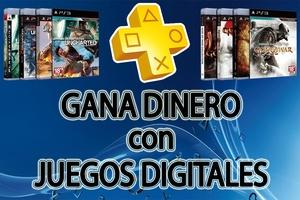 GANA DINERO VENDIENDO JUEGOS DIGITALES PS3 / PS4