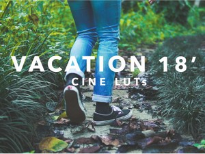 VACATION 18' LUTs