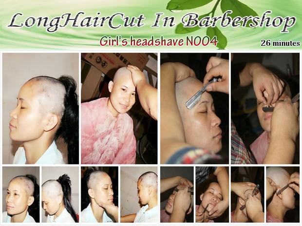 Girl's headshave N004