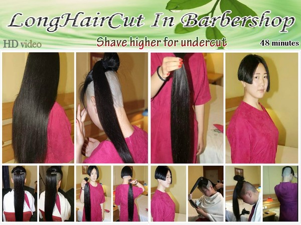Shave higher for undercut