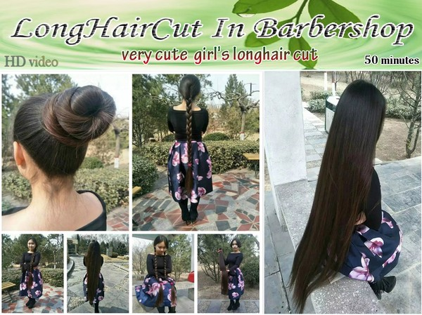 very cute girl's longhair cut