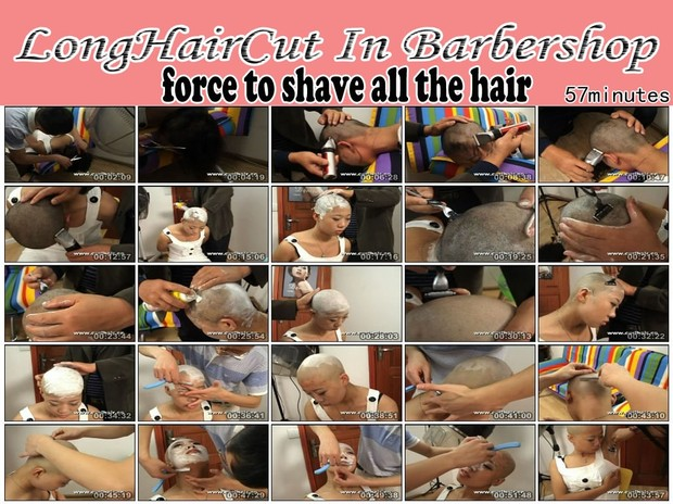 force to shave all the hair