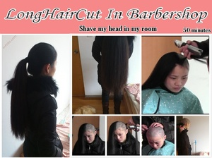 shave my head in my room