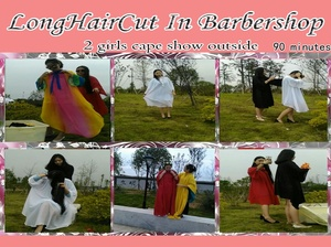 2 girls cape show outside