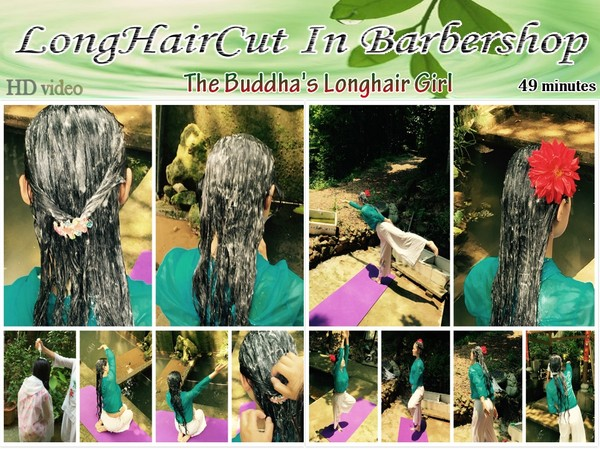 The Buddha's Longhair Girl