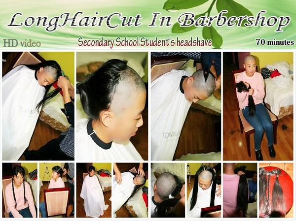 Secondary School Student's headshave