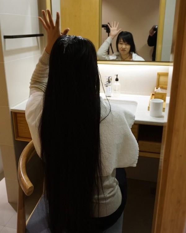 razor-shaved in hotel