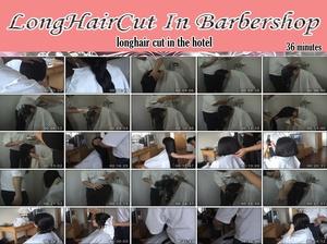 longhair cut in the hotel