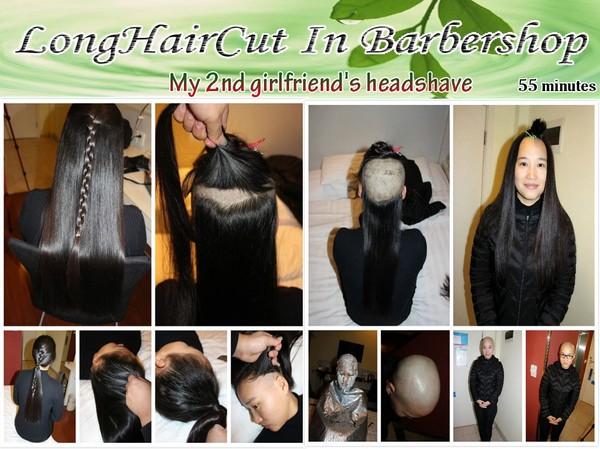 My 2nd girlfriend's headshave