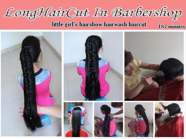 little girl's hairshow hairwash haircut