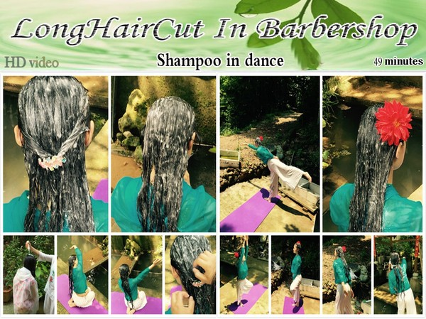 Shampoo in dance