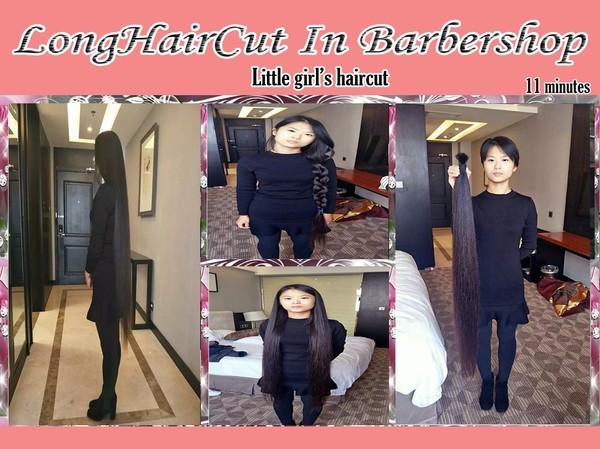 Little girl's haircut