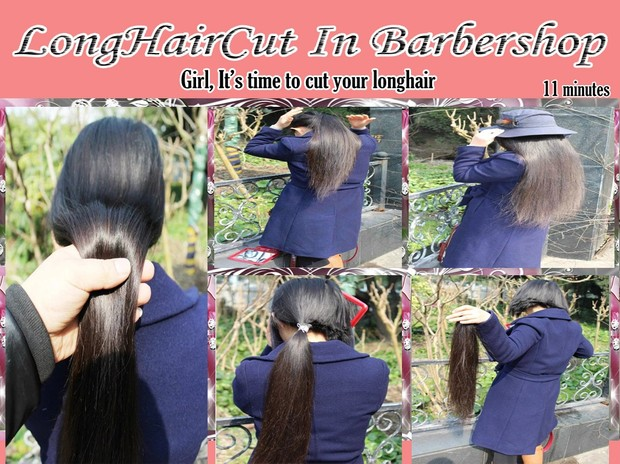 Girl,It's time to cut your longhair