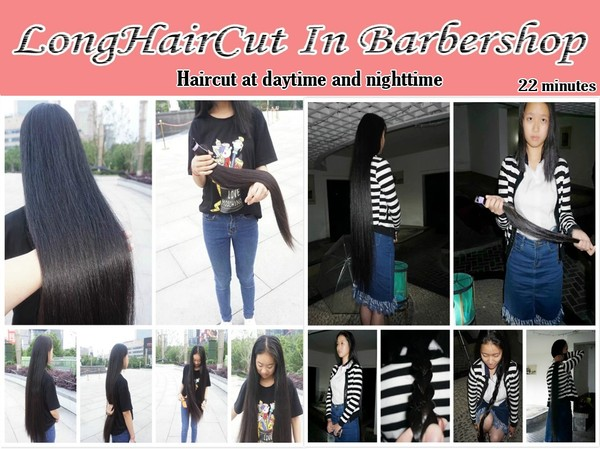 Haircut at daytime and nighttime