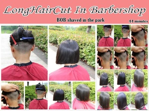 BOB shaved in the park