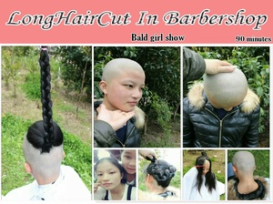 Bald girl show