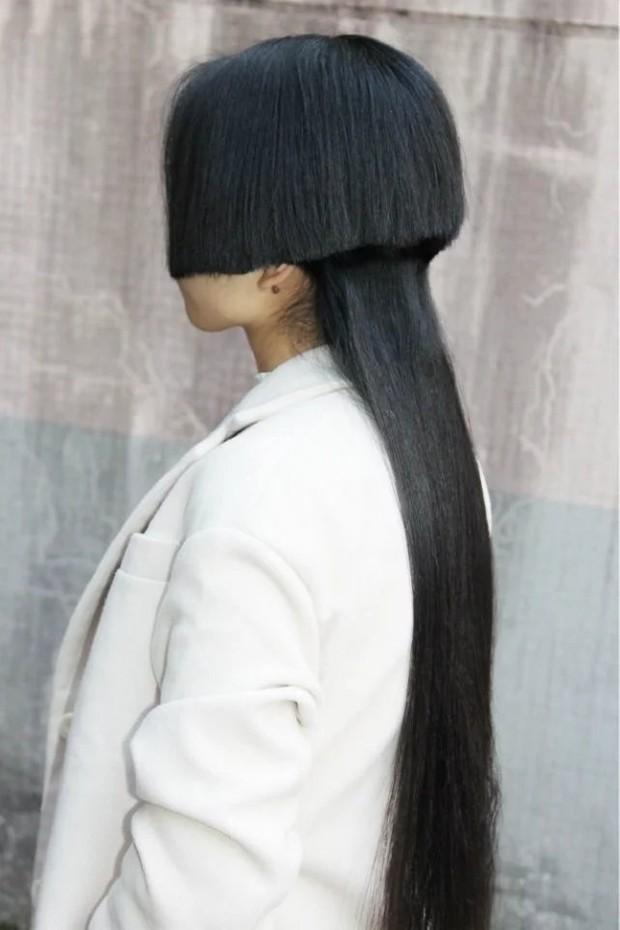 A Shy haircut