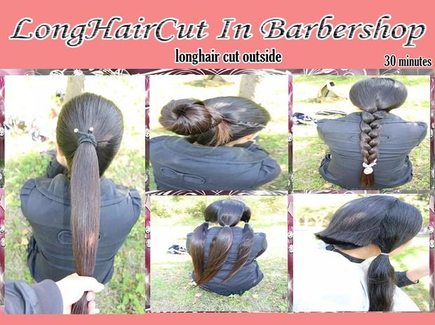 longhair cut outside