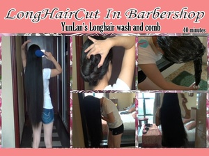 YunLan's Longhair wash and comb