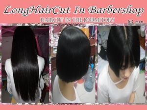 LongHaircut in the dormitory