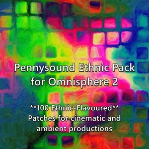 Ethnic Pack for Omnisphere 2 - 100 cinematic, ambient patches with a World ethnic flavor.