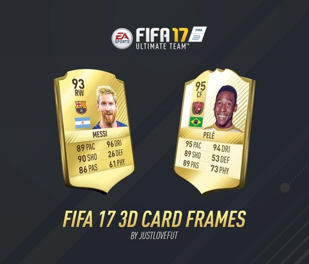 FIFA 17 CARD FRAMES | JLF