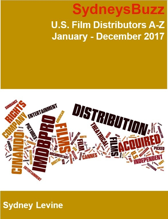 U.S. Film Distributors A-Z -January -December  2017