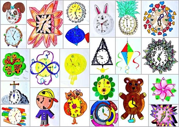 Design a wall clock: worksheets