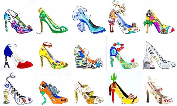Shoe Design: 2 worksheets