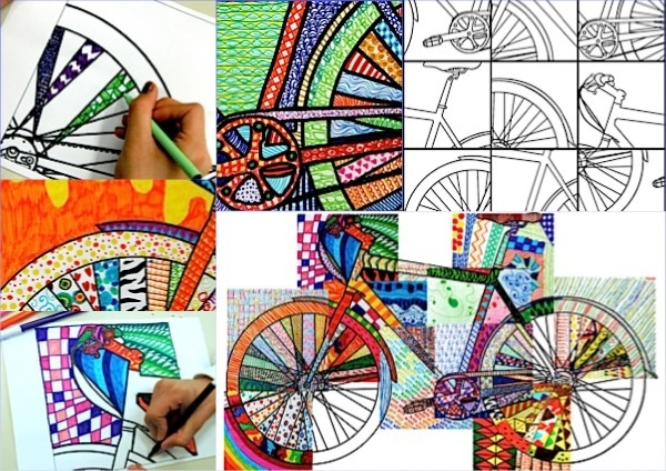 BICYCLE DETAILS: 20 printable worksheets