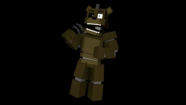 Minecraft Freddy Rig (C4D)