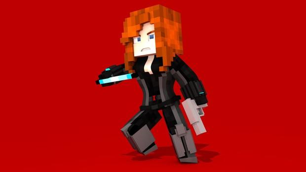 MC Civil War Black Widow (#FD)