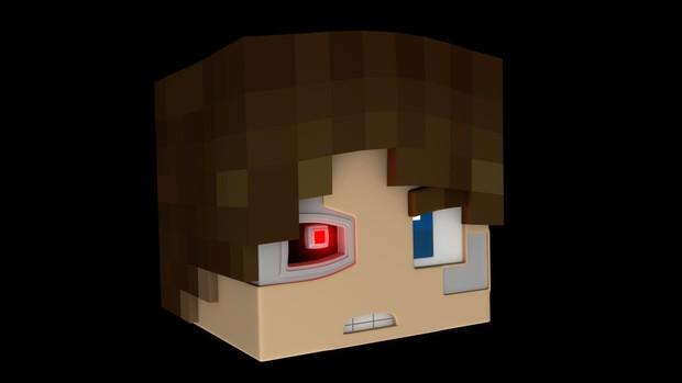 T-800 Minecraft Head