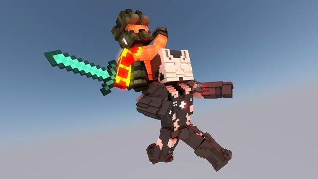 MC War Machine CIVIL WAR Rig (#FD)