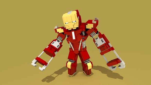 MC Iron Man (Mark 35-Red Snapper) Rig (#FD)