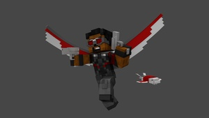 MC Falcon CIVIL WAR Rig (#FD)