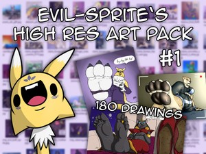 Evil-Sprite's High Res Art Pack #1 (18+ Adult Only)