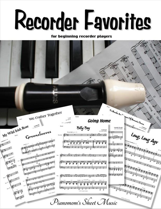 Recorder Favorites for beginning recorders arr. Julie Gaulke