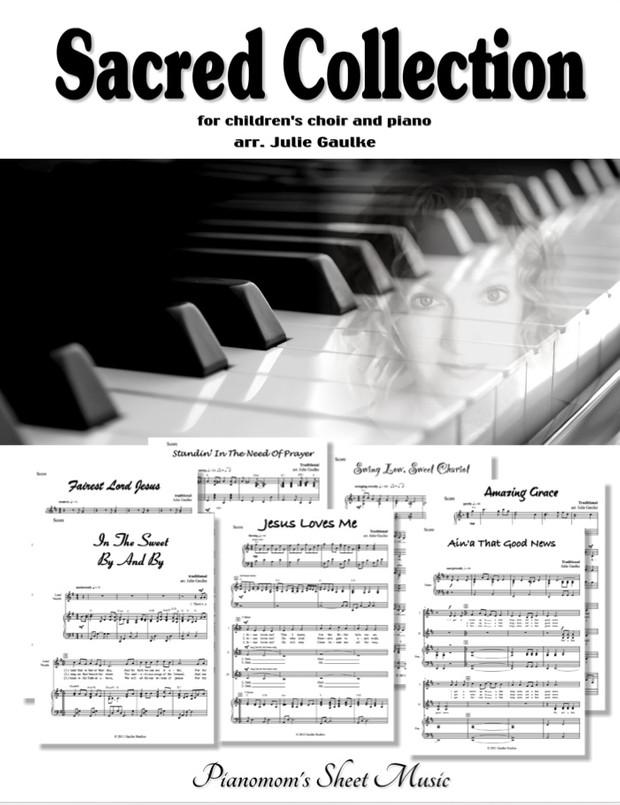 Sacred Collection with mp3 audio tracks - arr. Julie Gaulke