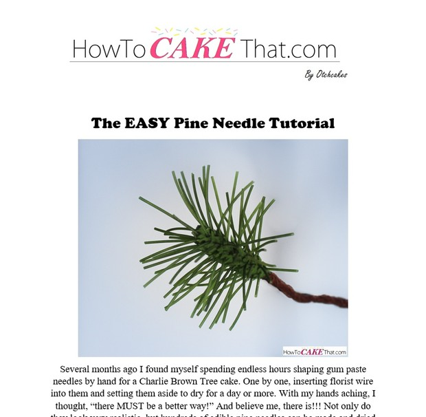 The EASY Pine Needle Tutorial