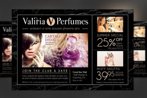 Perfume Club Flyer Template