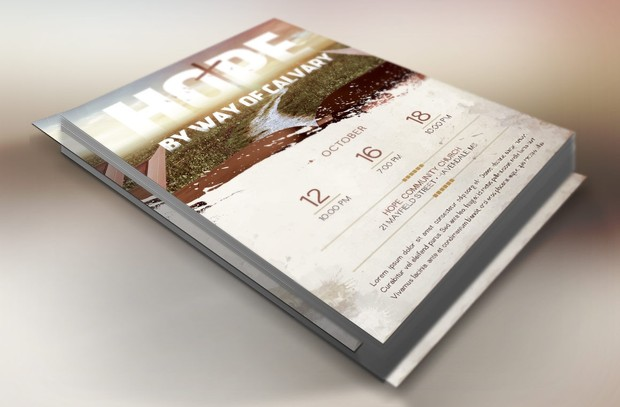Easter Hope Church Flyer Template