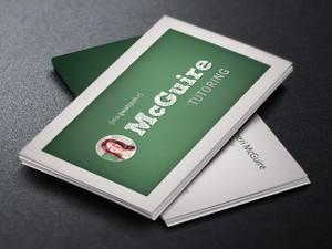 Tutor Business Card Template