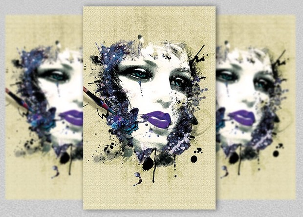 Mannequin Beauty Painting Poster Art
