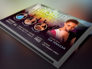 Church Concert Flyer Template