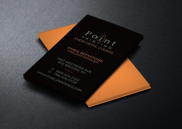 Digital Printer Business Card Template