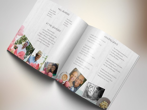 Magnolia Square Funeral Program - Publisher