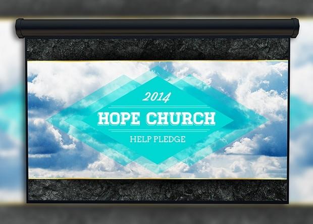 Sky Church Slide Template
