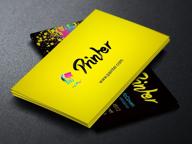 Printer business card template godserv designs printer business card template colourmoves