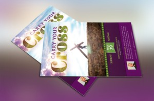 Carry Cross Flyer Template